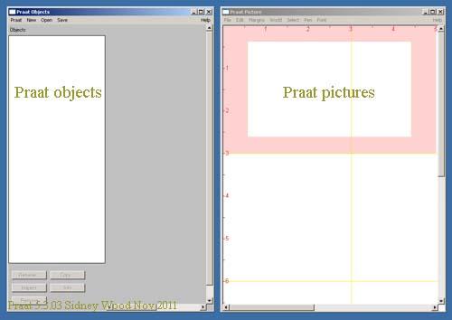 Praat windows   Welcome to SWPhonetics