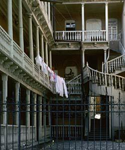 Tbilisi balconies