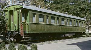 Josef Stalin's railway coach