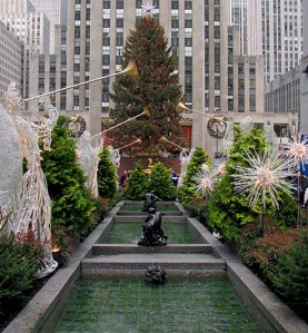 Christmas tree, Rockefeller Center, NY