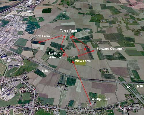 Belgium, Ypres, St Jean, Wieltje
